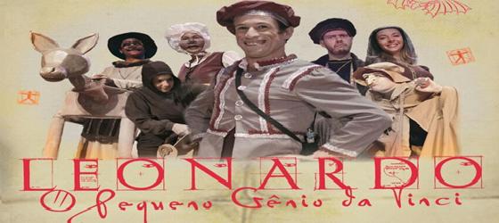 Entrada franca! Sesc AM traz a Manaus o espetáculo 'Leonardo – o pequeno gênio da Vinci'