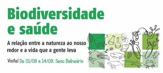 """Sesc Manaus recebe exposição """"Biodiversidade e saúde"""" até 16 de setembro"""