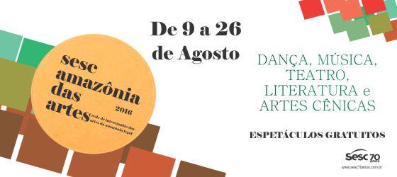 Sesc Amazônia das Artes leva espetáculos culturais a Manaus e Manacapuru