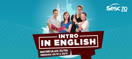 Sesc AM abre turmas de introdução básica à lingua inglesa