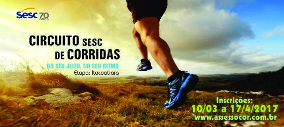Inscrições abertas para o Circuito Sesc de Corridas – Etapa Itacoatiara