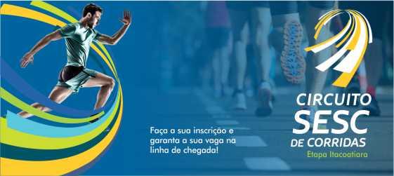 Inscrições abertas: Sesc promove Circuito de Corridas e prova de Aquathlon em Itacoatiara
