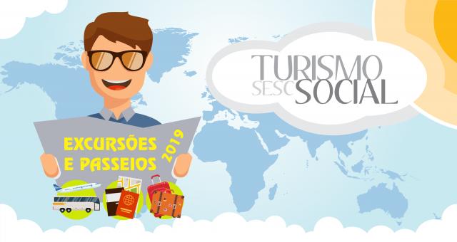 Consulte o calendário de viagens pelo Turismo Social do Sesc AM