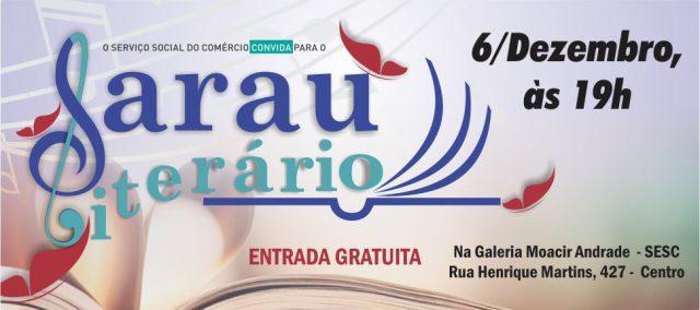 """""""Narrativas Amazônicas"""" é o tema do Sarau Literário Sesc desta quinta (6)"""