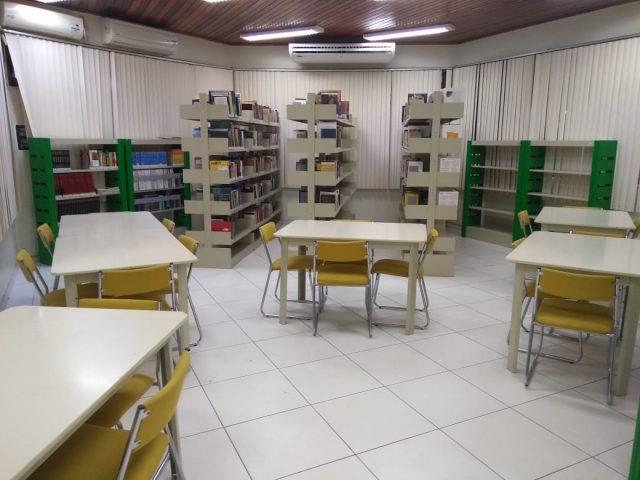 Conheça a nova biblioteca do Sesc no bairro Cidade Nova