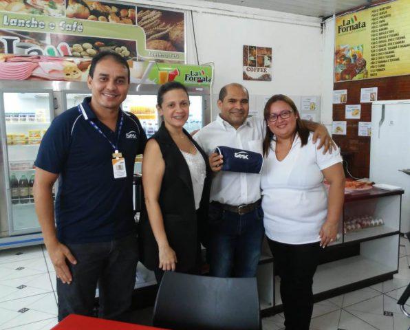 Mesa Brasil visita parceiros e reafirma compromisso social