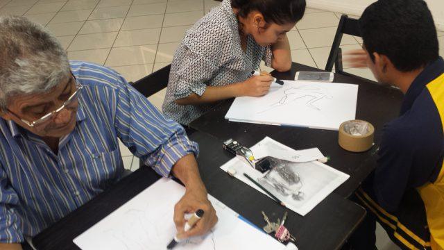 Abertas as inscrições para os cursos de Artes Visuais e Desenho do Sesc AM