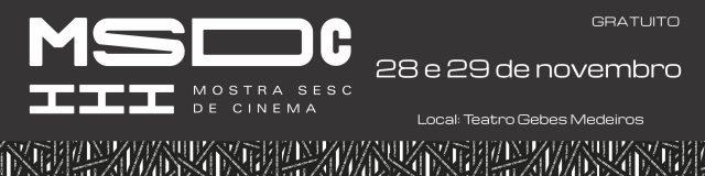 3ª Mostra Sesc de Cinema