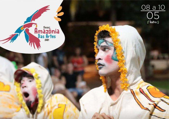 Amazonas tem dois espetáculos no Sesc Amazônia das Artes